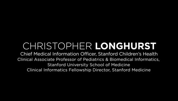 Keynote Speaker Christopher A Longhurst MD MS